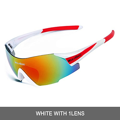 WOLFBIKE Snow Googles Windproof UV400 Motorcycle Snowmobile Ski Goggles Eyewear (New - Ski Sunglasses Mirrored