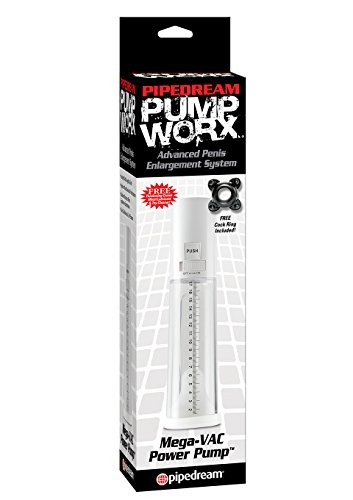 Pipedreams Products Pump Worx - Mega Vac Power Pump