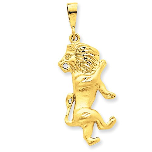 Charm Leo Zodiaque or 14 ct