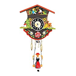 Alexander Taron Home Seasonal Décorative Accessories Engstler Battery-operated Clock - Mini Size - 4.5H x 4.25W x 2.25D