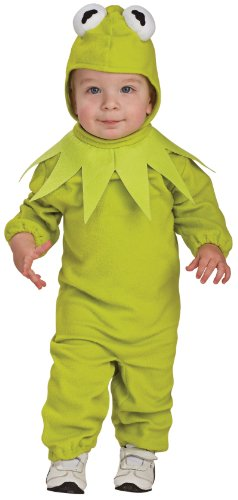 Rubies Kermit the Frog Child Romper Halloween Costume - Toddler | (Frog Costume Baby)