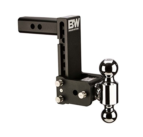 2 Ball Hitch >> B W Trailer Hitches Tow Stow Double Ball Hitch 2 5 16 X 2 Balls With 2 5 Shank 7 Drop Or 7 1 2 Rise