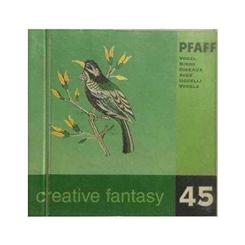 Pfaff Creative Fantasy Embroidery card design #45 for 7570 and others - birds design