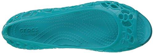 Crocs Isabellajlyfltw, Bailarinas para Mujer Verde (Turquoise)