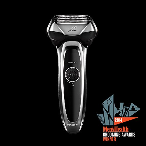 Panasonic Arc5 Electric Razor, Men's 5-Blade Cordless with Shave Sensor Technology and Wet/Dry Convenience, ES-LV65-S