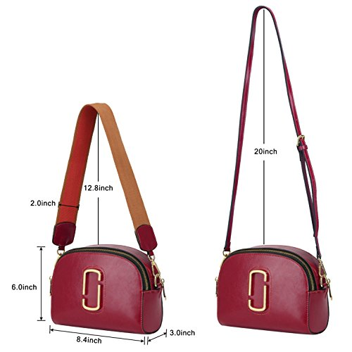 Women On Red for Sale Leather Structured Bag ZONE Bag Crossbody Shell Small Shoulder S Purse xTqqpwC81