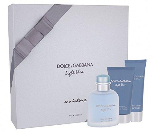 Dôlce & Gàbbana Light Blue Eau Intense Pour Homme 3 Piece Gift Set
