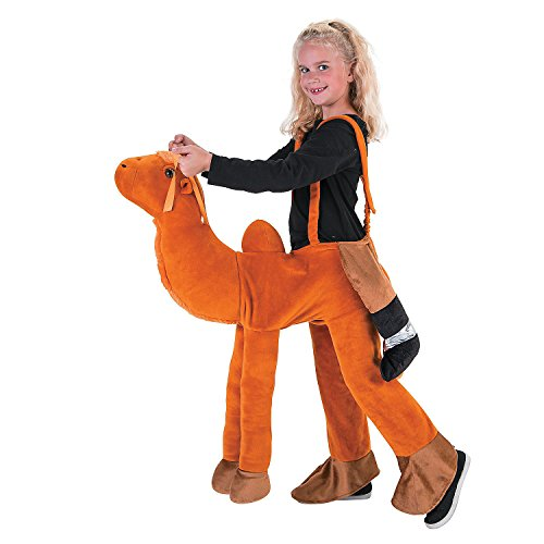 Kid's Plush Ride-a-Camel -