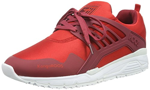 KangaROOS Runaway Roos 006 - Zapatillas Hombre Rojo - Rot (flame red/red 606)