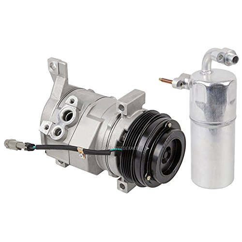 AC Compressor w/A/C Drier For Cadillac Escalade ESV & Chevy Avalanche 1500 - BuyAutoParts 60-86345R2 New