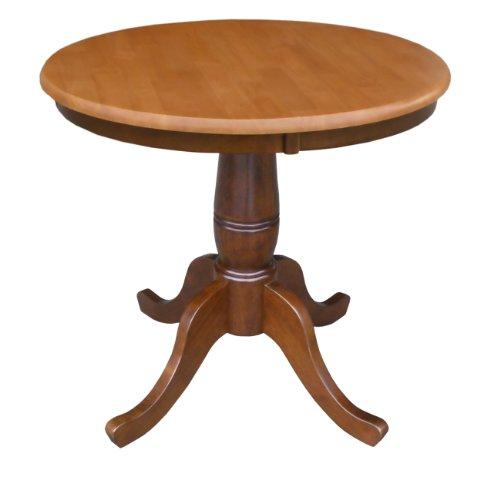 30 inch round pedestal table - 7