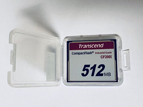Transcend 512MB Industrial Compact Flash Card (TS512MCF200I) by Transcend (Image #1)