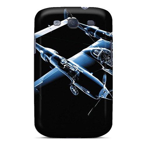 High Quality Hgs27yJZk P 38 Lightening Tpu Case For Galaxy S3 (P-38 Lightening)