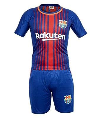 online retailer 5f9e8 de373 Sportyway Kids Messi 10 FC Barcelona Football Jersey Set