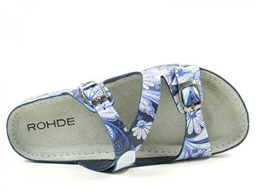 Rohde 5806 - Zuecos Mujer Blau