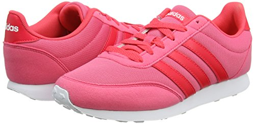 Pink 0 V footwear real Baskets Femme shock 0 Rose Adidas Red White 2 Racer q8WwfxWtg