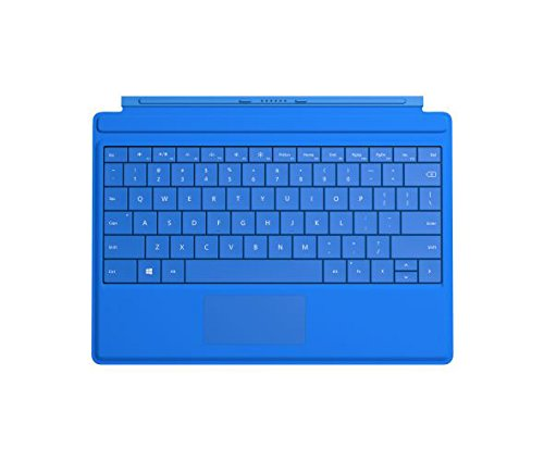 Microsoft Surface 3 Type Cover SC English US/Canada Hdwr, Bright Blue (A7Z-00002) (Microsoft Type Cover For Surface Pro Blue)