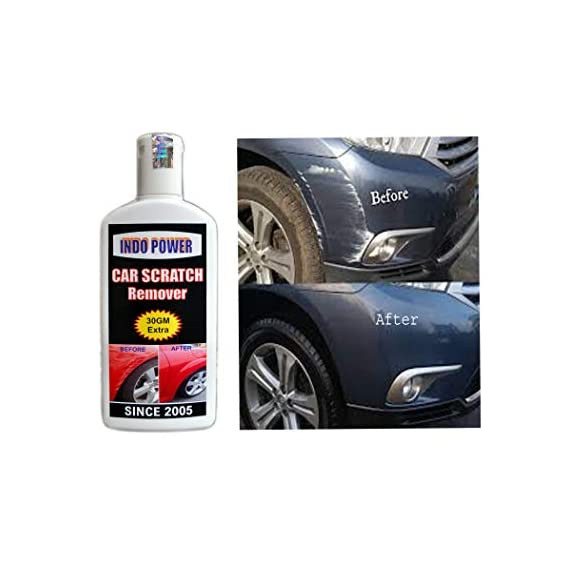 INDOPOWER HDDDd967-CAR Scratch Remover 100gm. All Colour Car & Bike Scratch Remover (Not for Dent & Deep Scratches).