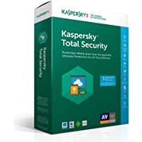 Kaspersky Total Security 2017 5 Devices 1 Year (Retail Box with Key Card - No CD included)