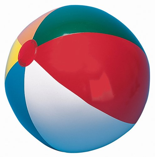 Champion IB16 Sports Heavy Duty Beach Ball, 16