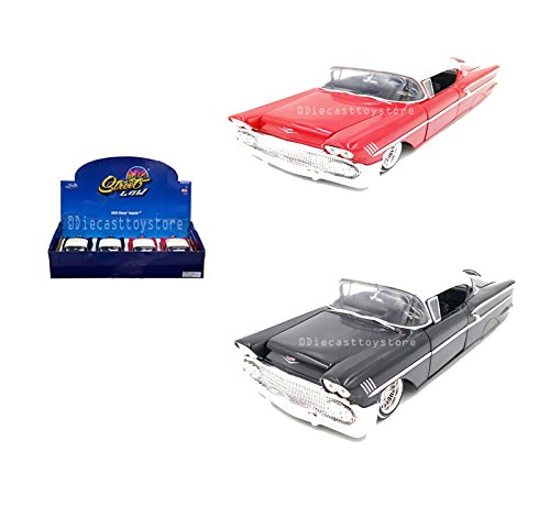 Chevrolet Impala Hardtop - NEW DIECAST TOYS CAR JADA 1:24 DISPLAY STREET LOW 1958 CHEVROLET IMPALA SS HARDTOP BLACK/WHITE RED/WHITE MIJO EXCLUSIVES 1 ITEM RANDOM COLOR 98921-MJ WITHOUT RETAIL BOX