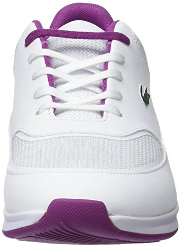 Lacoste Chaumont Lace 117 2 Spw Wht, Bajos para Mujer Blanco (Wht)