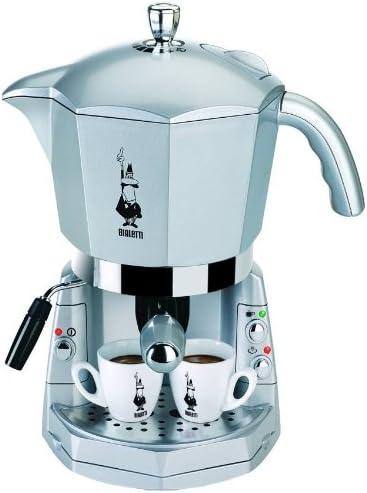 Bialetti Mokona CF40, Plata - Máquina de café: Amazon.es: Hogar