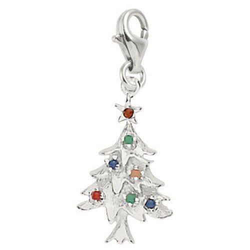 silver christmas charms amazoncom - Christmas Charms