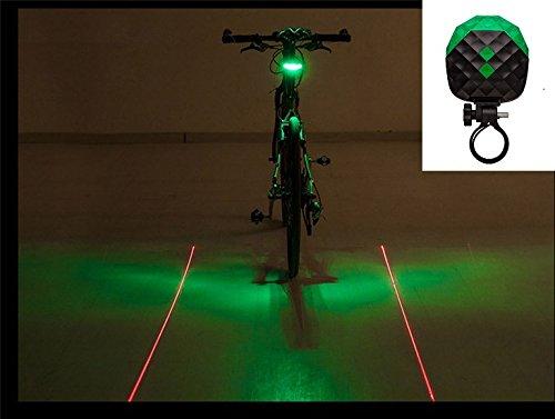 7 led silicone bicycle light - 2