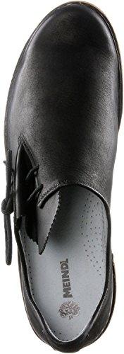 Meindl para hombre calzado de tiempo libre negro/marrón