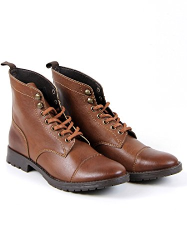 Boots Boots Work Will's Chestnut Vegan Shoes qxzn7ftw