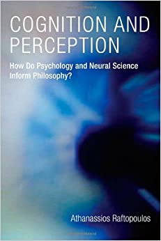 Book Cognition and Perception (Bradford Books)