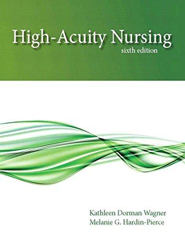 High-Acuity Nursing (2 downloads) (6th Edition) Pdf