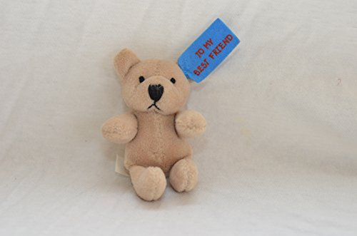 cute-mini-tiny-small-plush-3-teddy-bear-tan-to-my-best-friend-note-birthday-valentine-friendship-day