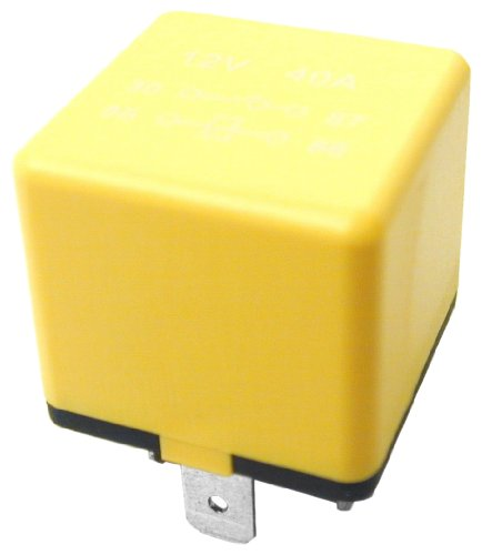 URO Parts YWB10012L Multi Purpose Relay, OE Style Yellow