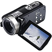 Hometom 16X ZOOM Full HD 1080P 24MP Digital Video Camcorder Camera DV HDMI 3 TFT LCD