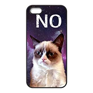 Grumpy Cat Snap-on TPU Rubber Coated Case Compatible with iPhone 5 / ipod touch4 Cover
