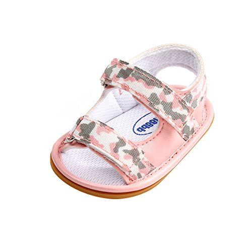 - Newborn Baby Boys and Girls Breathable Casual Rubber Sole Beach Sandals (11cm(3-6months), Colour-3)