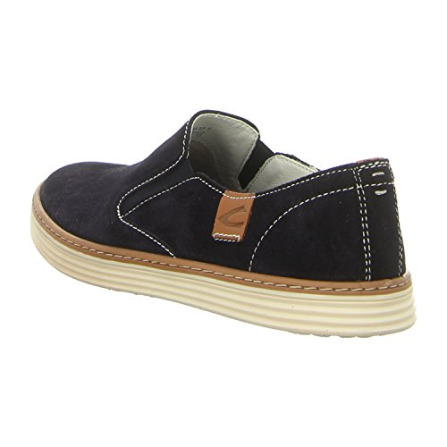 camel active Men's 376.32.01 Lace-Up Flats Blue Midnight Blue (Midnight) fQfOYjdP