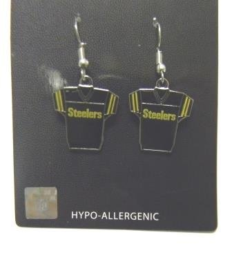 Pittsburgh Steelers Jersey Dangle (Gold Pittsburgh Steelers Charm)