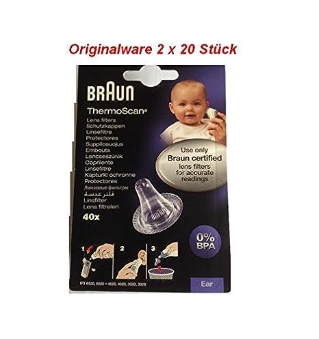 Braun T1010 - Tapones de recambio para termómetro Thermoscan: Amazon.es: Salud y cuidado personal