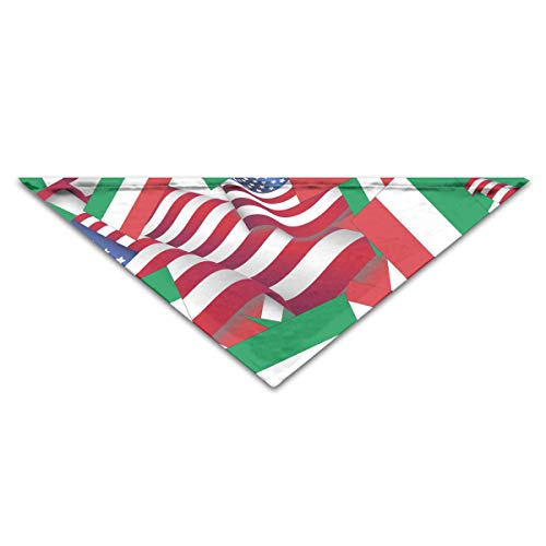 Expansion Crittertrail Kit (BAGT Dog Bandana Hungary Flag with America Flag Triangle Bibs Scarf Accessories for Dogs Cats Pets Animals)