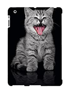 LvAlIrQ2553hGLzG Snap On Case Cover Skin For Ipad 2/3/4(yawning Cat )/ Appearance Nice Gift For Christmas