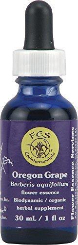 - Flower Essence Services Oregon Grape Dropper, 1 Oz by Flower Essence Services