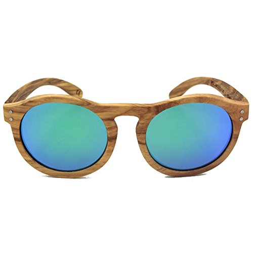 hibote Oval Convex Nose Zebra Boisen Polaris¨¦es Glasses Homme Femme vert