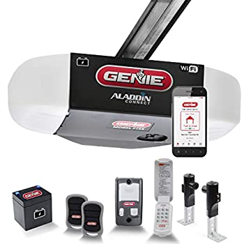 Genie StealthDrive Connect Model 7155-TKV Smartphone-Controlled Ultra-Quiet Strong Belt Drive Garage Door Opener, Battery Backup - Compatible with Alexa & Google Assistant