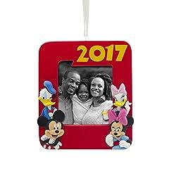 Hallmark Disney Mickey Mouse Photo Holder 2017 Christmas...