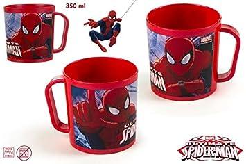 Lote de 20 Tazas con Diseño Spiderman, 350 ML, Multicolor ...