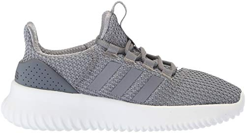 adidas Kids' Cloudfoam Ultimate Running Shoe, Light Granite/Grey/Onix, 3 M US Little Kid by adidas (Image #3)