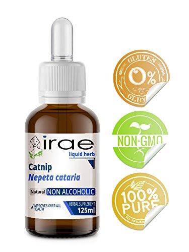 Organic Catnip Nepeta cataria 1:1 Tincture Non Alcoholic 125ml (Catnip Single)